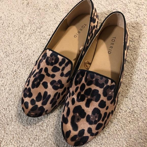 torrid Shoes | Torrid Leopard Loafers